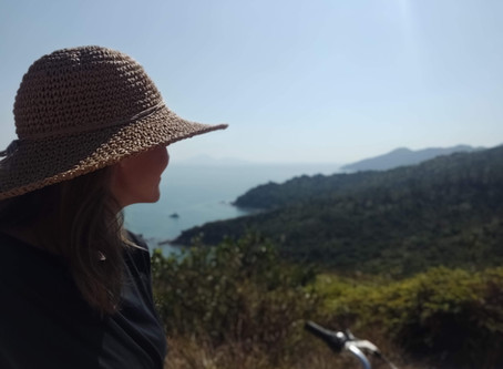 Cycling the coast of Lamma Island - Hong Kong's rural neighbour