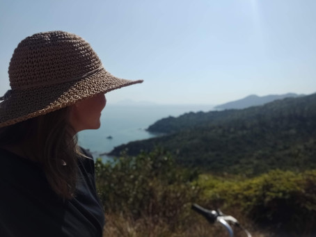 Cycling the coast of Lamma Island - Hong Kong's rural neighbour