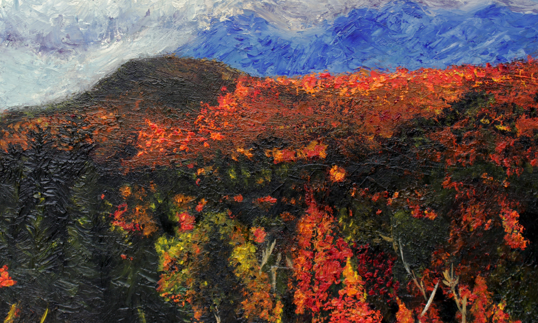 """Mountainside"" (2014) by Sherri Huang"