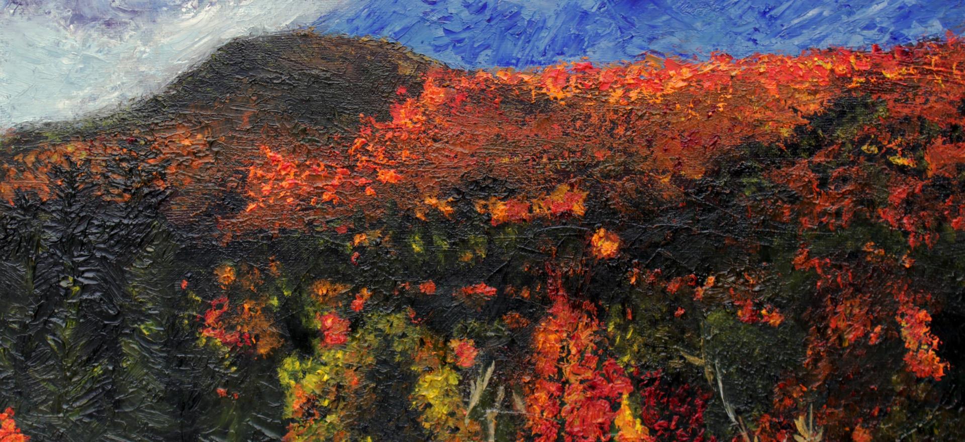 """""""Mountainside"""" (2014) by Sherri Huang"""