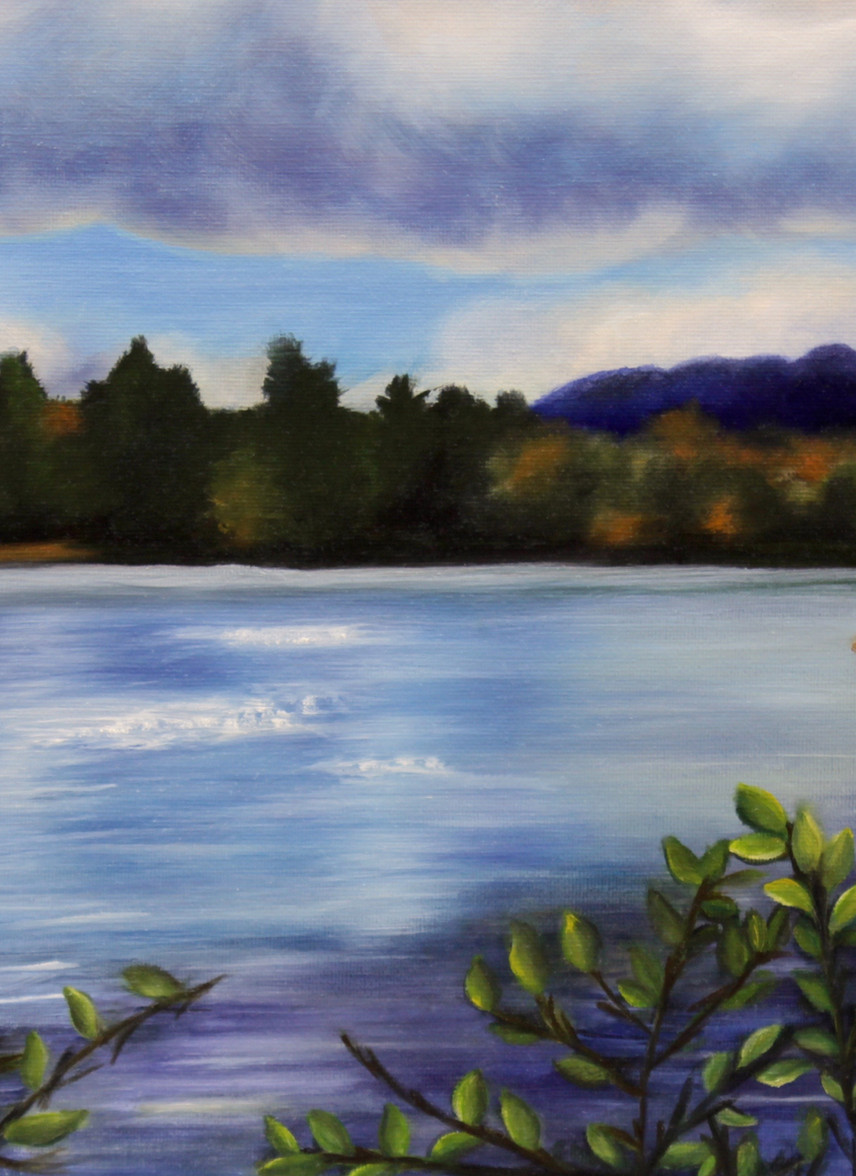 """Vermont Getaway"" (2014) by Sherri Huang"