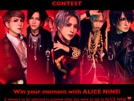 Contest   Alice Nine Online Event