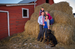 Country Family Portrait