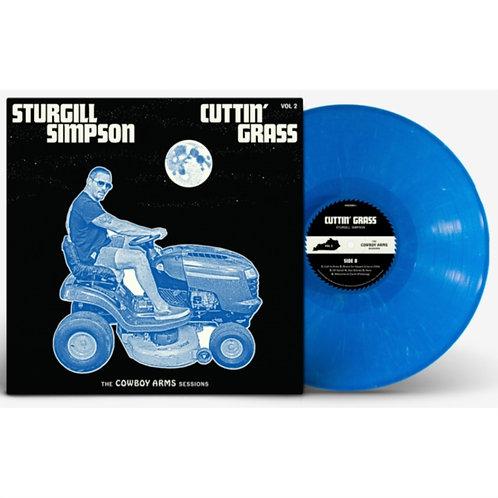 Sturgill Simpson - Cuttin' Grass Vol. 2 Vinyl Indie Exclusive Blue/White Swirl