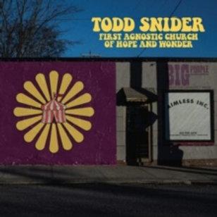 Todd Snider - First Agnostic Church of Hope & Wonder