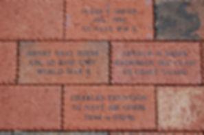 Jamestown NC Veterans Memorial Bricks