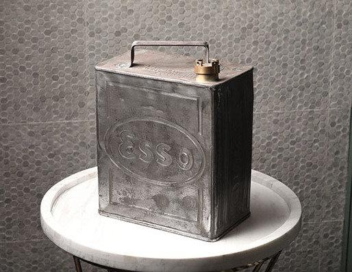 Vintage Polished 'ESSO' Petrol Can