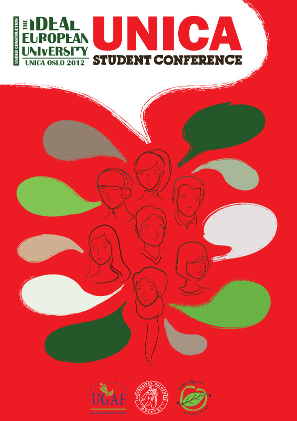 COVER, UNICA STUDENT CONFERENCE 2012