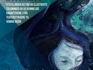 IBSEN'S WOMEN /  IBSENS KVINNER Illustration Exhibition