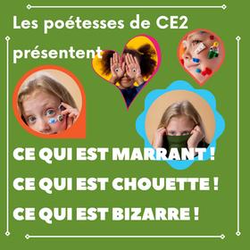 Présentation des poétesses de CE2