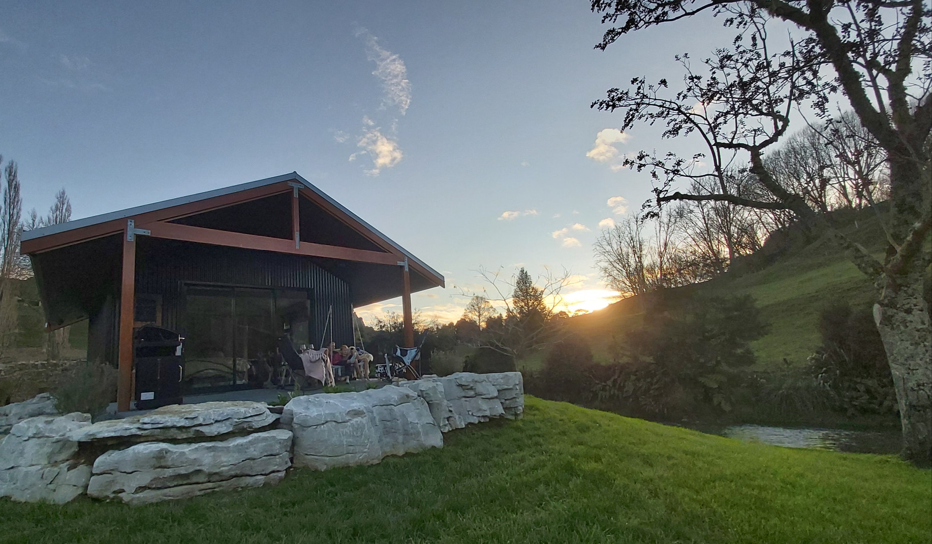 Sunset at Ripples Retreat