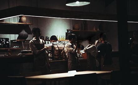 Les travailleurs de restaurants