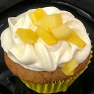 Banana-Mango Cupcake