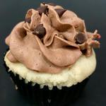 Vanilla-Chocolate Cupcake