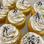 Lemon-Poppy Seed Cupcake