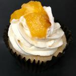 Ginger-Peach Cupcake