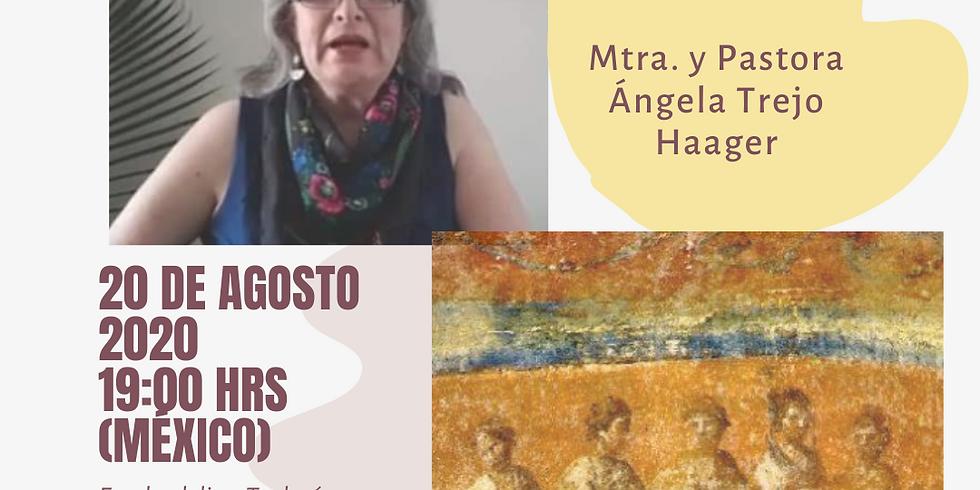Mujeres sabias en liderazgo. Mtra y Pastora Ángela Trejo Haager.