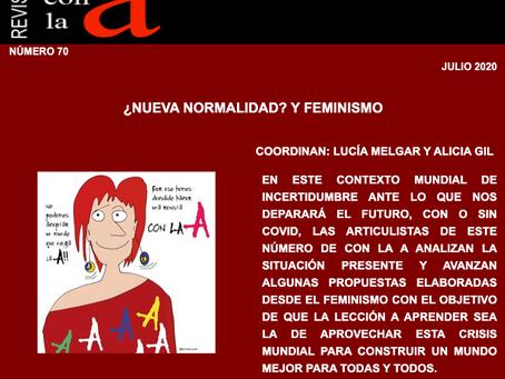 Revista Con la A 70: ¿Nueva normalidad? y feminismo