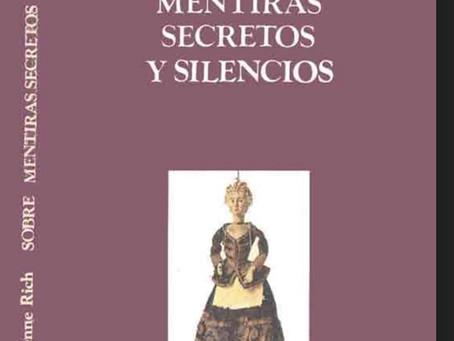 Sobre mentiras, secretos y silencios. Adrianne Rich