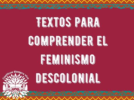 Textos sobre feminismo decolonial