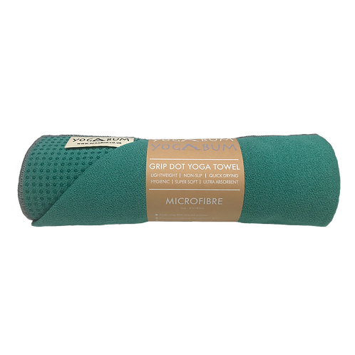 Emerald Green - Eco Yoga Towel
