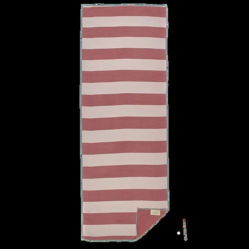 Coral & White Striped