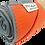 Thumbnail: Tangerine - Eco Yoga Towel