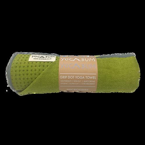 Olive Green - Eco Yoga Towel
