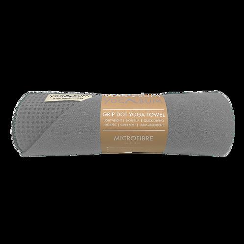 Cloudy Grey - Eco Yoga Towel