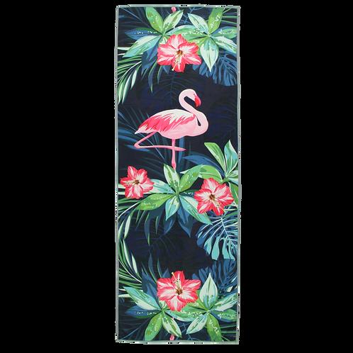Pink Flamingo - Eco Yoga Towel