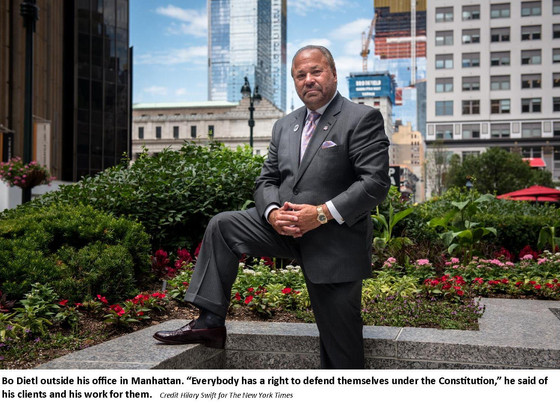New York Times Feature Article:       A Self-Proclaimed 'Tough Cop' Wants a New Title: Mayor