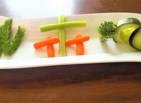 Story of Easter Vegetable Tray