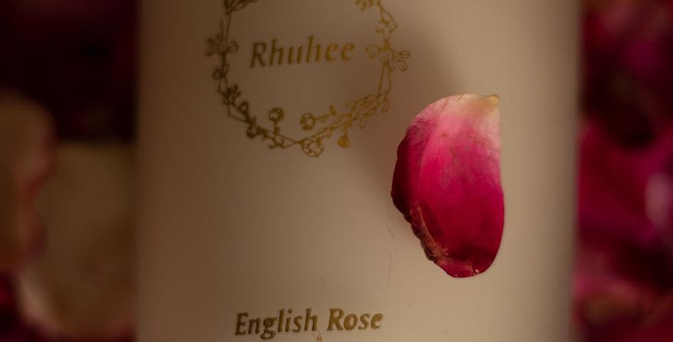 English rose candle