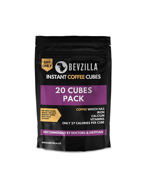 20 Coffee Cubes Pack
