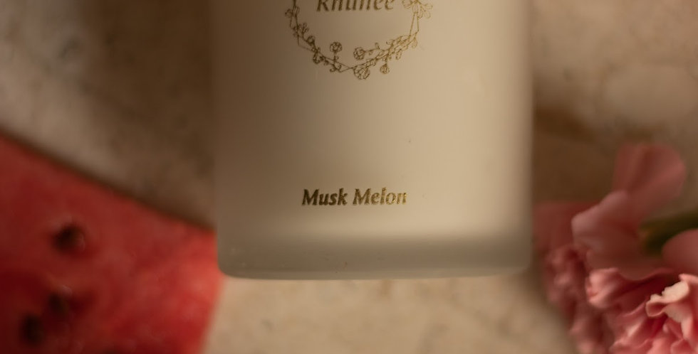 Musk melon candle