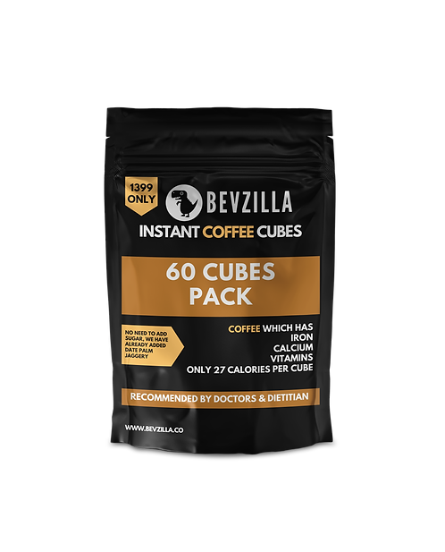 60 Coffee Cubes Pack