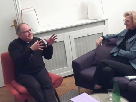 Soirée coachs, intervention de Mgr Jean-Philippe Nault