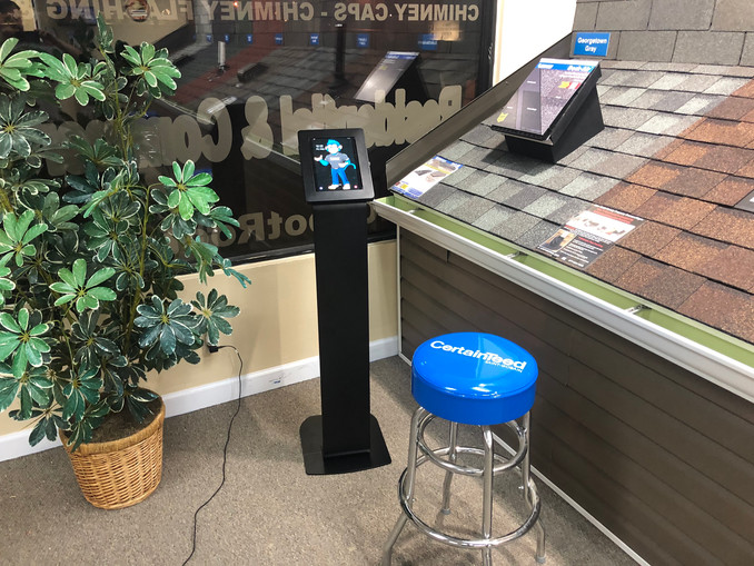 Apply for financing on our kiosk