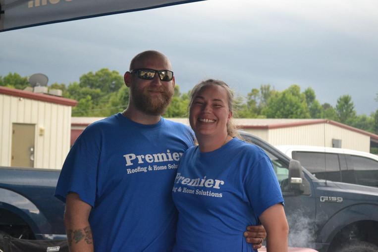 Premier Roofing, llc Showroom Grand Opening Volunteers