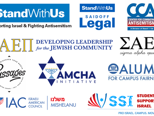 StandWithUs Coalition Letter to Campus Presidents re Start Date Conflicting with Rosh Hashanah