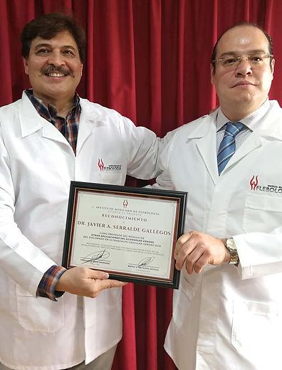 Flebologia Paredes Diplomado Escleroterapia curso flebología diploma a javier serralde