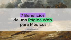 Páginas web para médicos: 7 enormes beneficios de usarlas