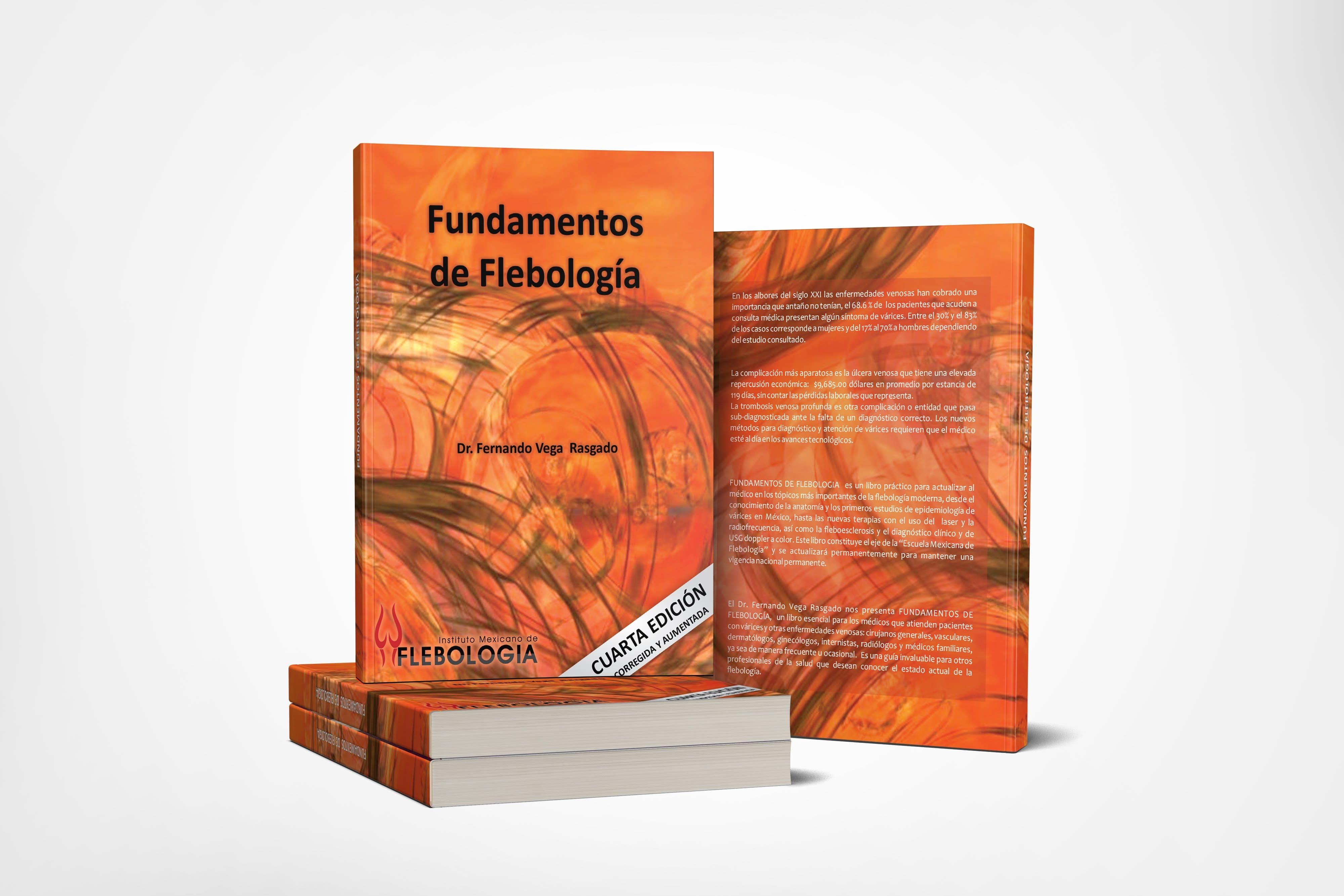 COMPRA YA Libro Fundamentos de Flebología - IMF - Flebología México Instituto Mexicano de Flebología