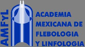 Logotipo de la Academia Mexicana de Flebología y Linfología AMFyL