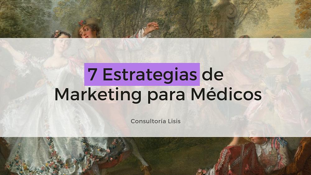 estrategias de marketing para médicos