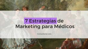 7 estrategias de marketing para aplicar en consultorios médicos