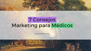 7 consejos claves de Marketing digital para médicos
