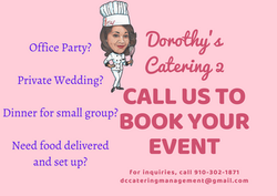 Catering Business Postcard