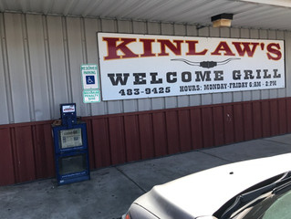 Emotionally Eating & Supporting Local Restaurants-Kinlaw's Grill