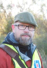 Morgan Hallgren, ägare av Kennel Muldegard på Gotland. Jaktspringerspaniels och gundogs